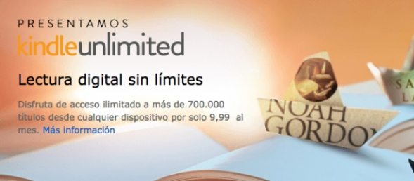 amazon lanza kindle unlimited la lectura sin limites