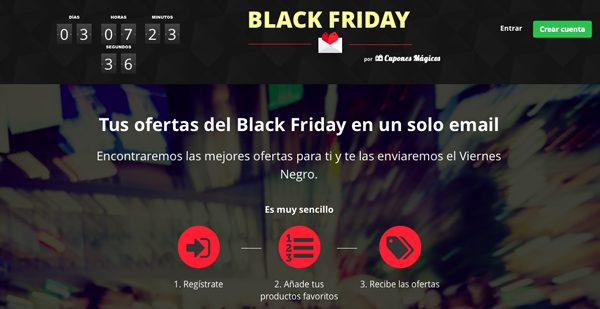 aprovechate del black friday