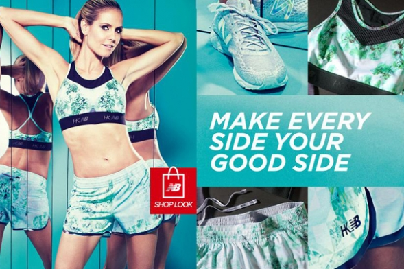 new balance collection de heidi klum