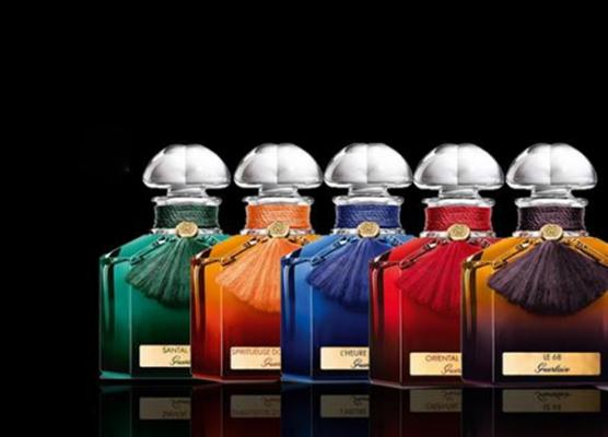 colour collection flacon quadrilobeacute la coleccioacuten de fragancias maacutes exclusivas de guerlain