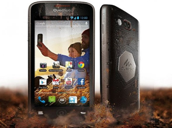 decathlon presenta el primer smartphone mountainproof