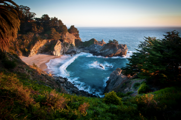 big sur el destino favorito de las celebrities
