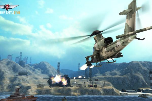 gunship battle 2 llega a la realidad virtual de samsung