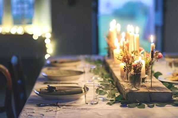 ideas para decorar la mesa de invitados