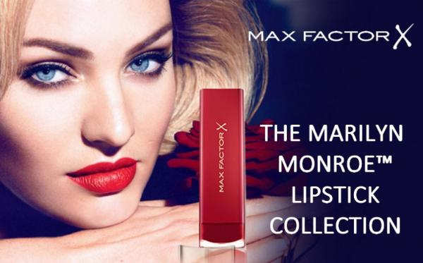 tus labios al maacutes puro estilo hollywood de los 50 con los nuevos labiales de la coleccioacuten marilyn monroe lipstick collection de max factor