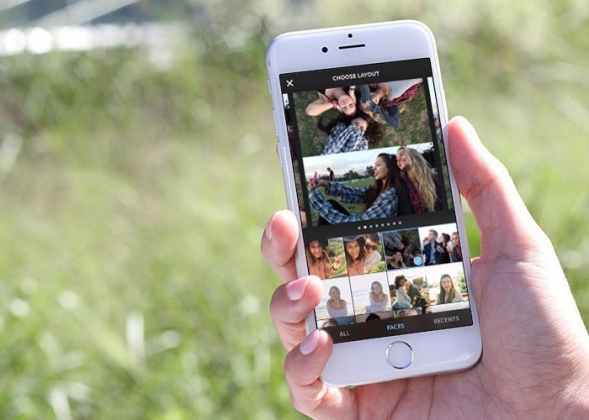 layout la nueva app de instagram para crear collages