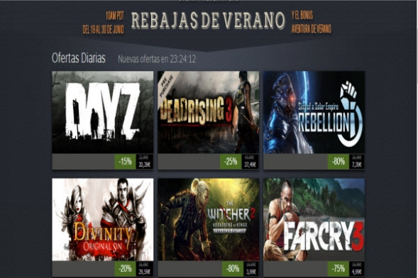 wow las rebajas de steam ya estan aqui