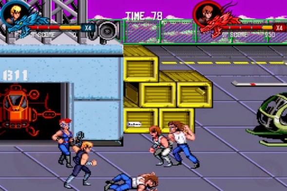 el retorno de double dragon
