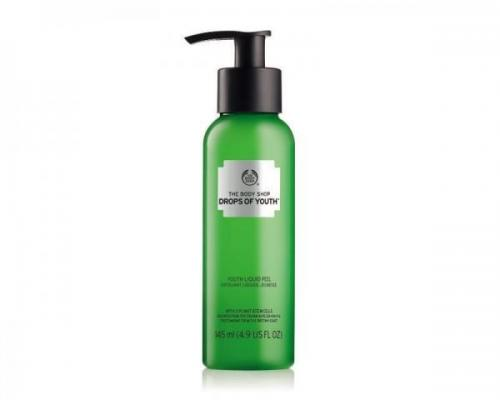 youth liquid peel el nuevo exfoliante de the body shop para un piel perfecta