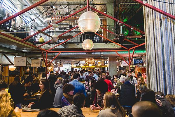 El Mercado De San Ildefonso El Primer Street Food Market De